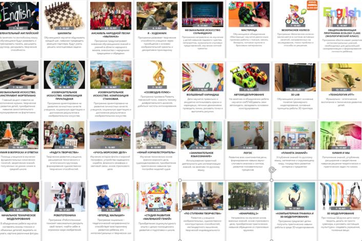 В «Навигаторе» Краснодарского края  уже более 10 тысяч программ дополнительного образования