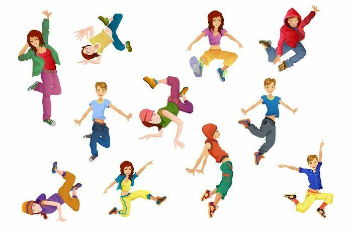 Танцующие дети в картинках