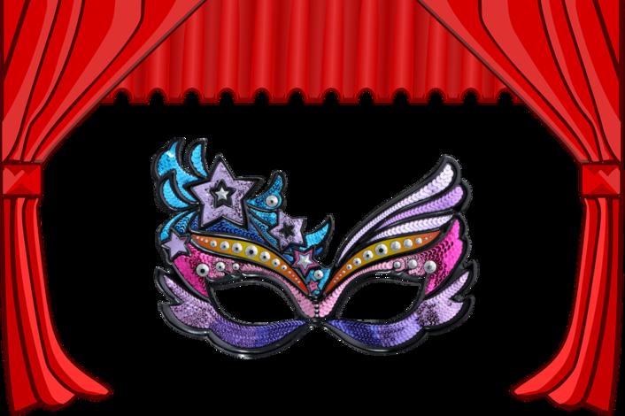 Картинки маски театральные для детей
